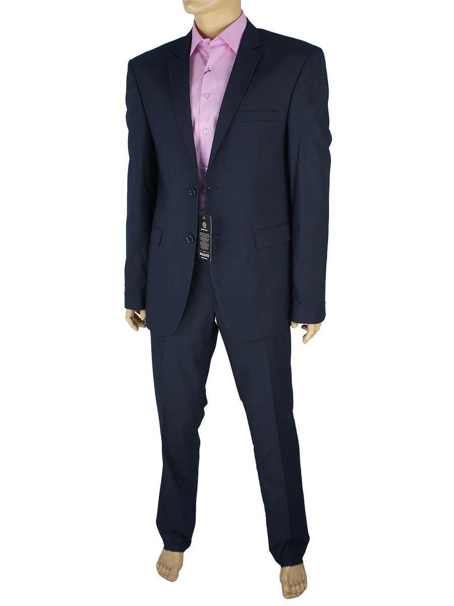 Темно-синій чоловічий костюм Daniel Perry TX.026