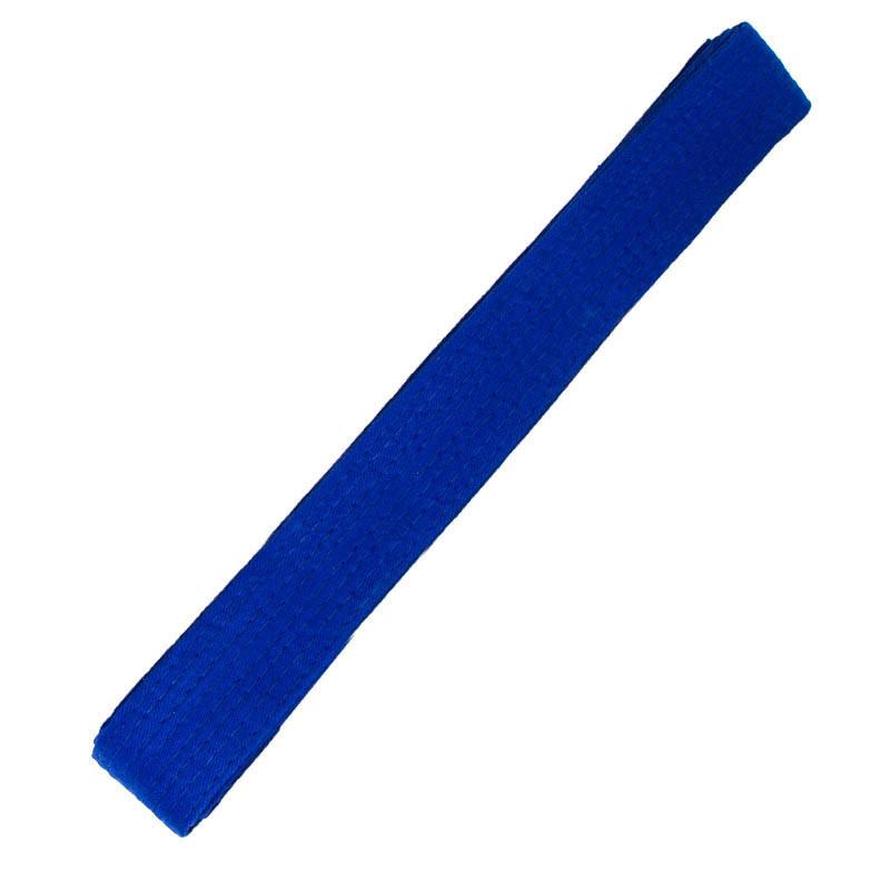 Пояс для кимоно синий 260 см