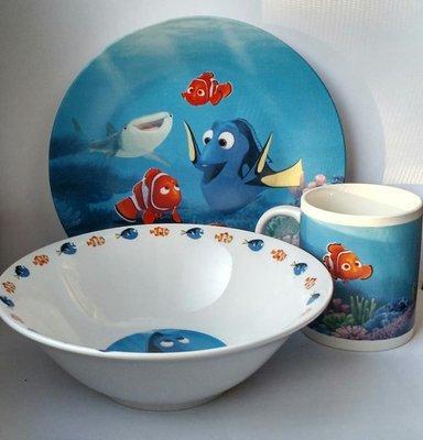 Набор детский из 3-х предметов Приключения в океане