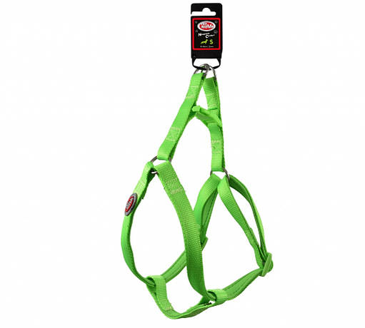 Нейлоновая шлея Pet Nova S 37-50 см Светло-зеленая