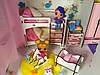 Кукольный Домик Большой Особняк Барби 5 комнат, 3 этажа + обои + шторы + мебель + текстиль + Box, фото 3