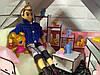 Кукольный Домик Большой Особняк Барби 5 комнат, 3 этажа + обои + шторы + мебель + текстиль + Box, фото 4