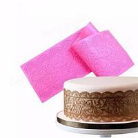 Силиконовые торт Кружева Маты Mold Fondant торт украшение инструменты цветок венчания Чеканка Плесень 1TopShop