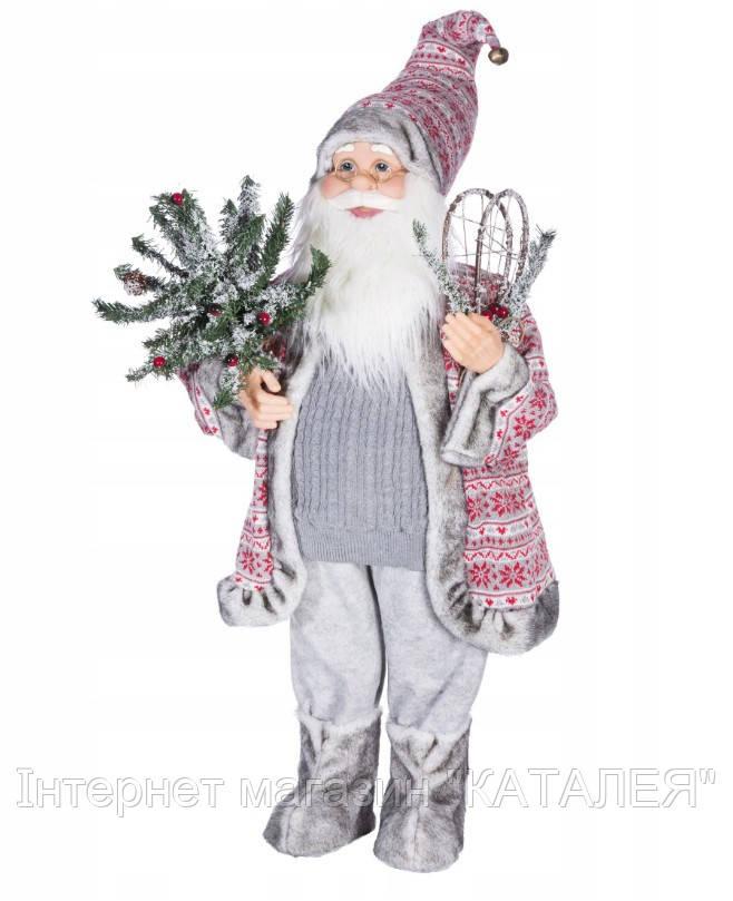 Фігурка новорічна Санта-Клаус Olaf 3 80 см