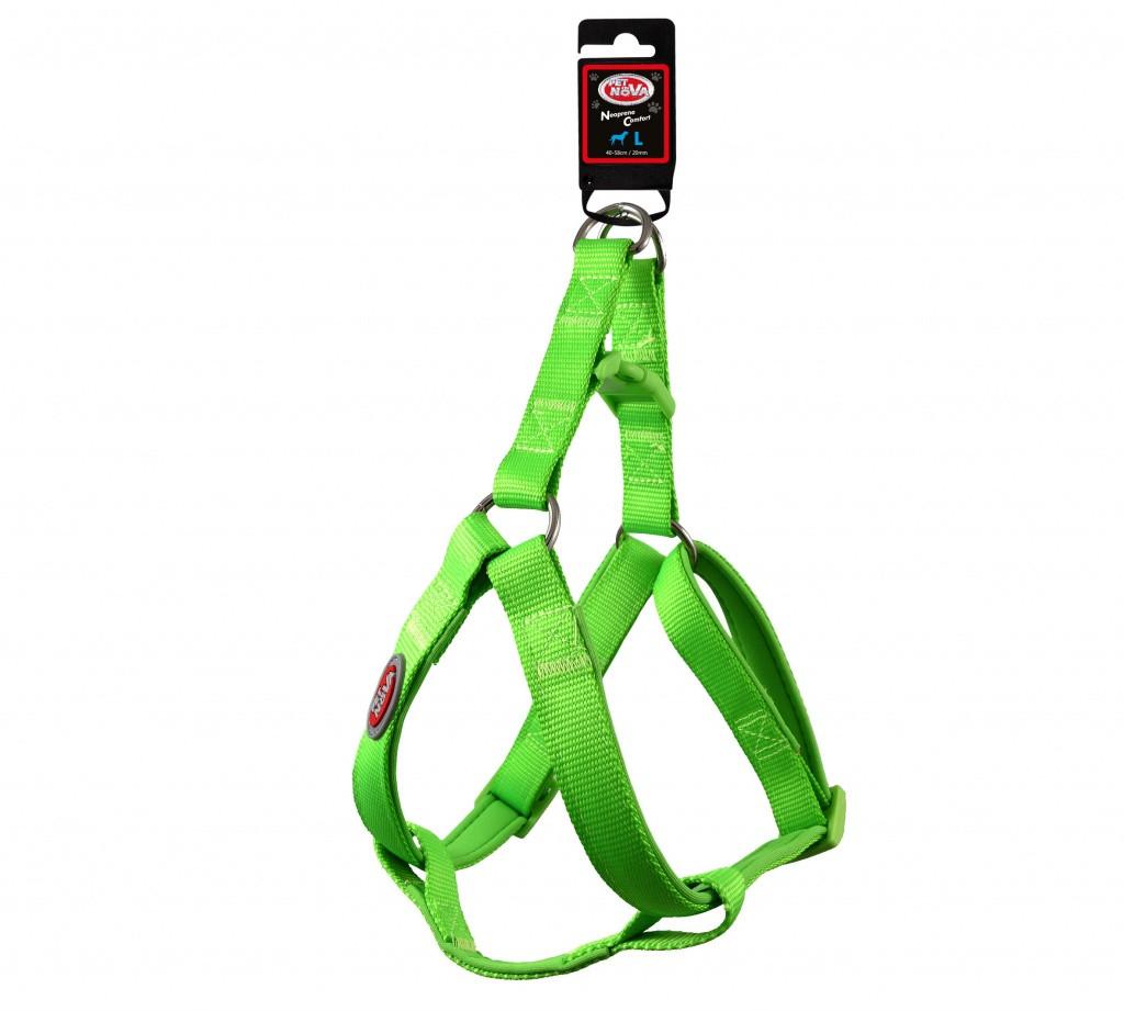 Нейлоновая шлея Pet Nova L 41-58 см Светло-зеленая