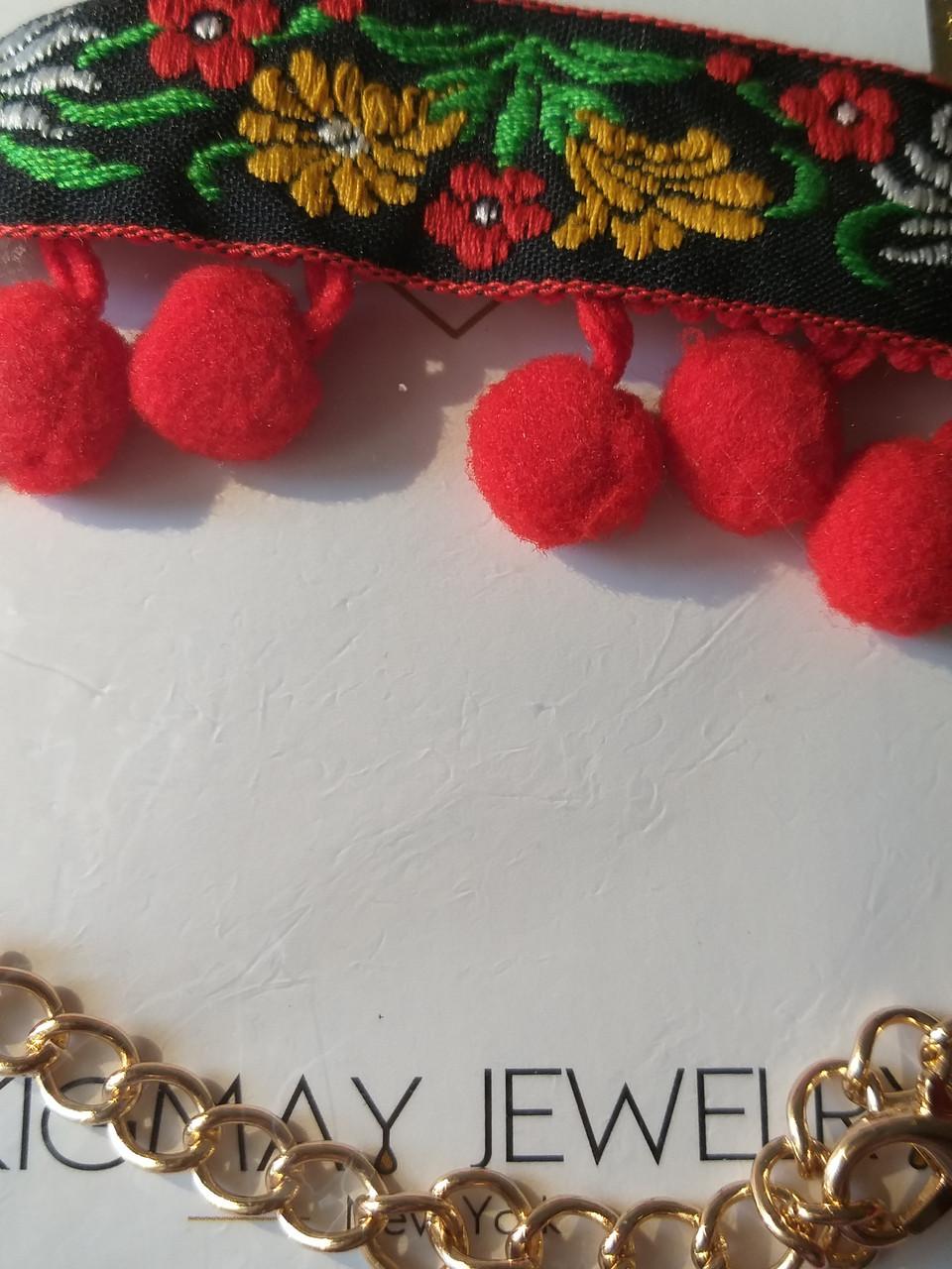 "Чокер Kigmay jewelry ""Вышиванка"""