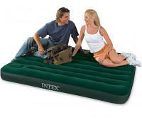 Велюровая кровать-матрас INTEX 66928