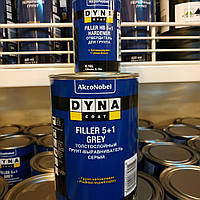 Грунт автомобильный Dyna Coat Filler Hard 5+1 Grey Set 1л