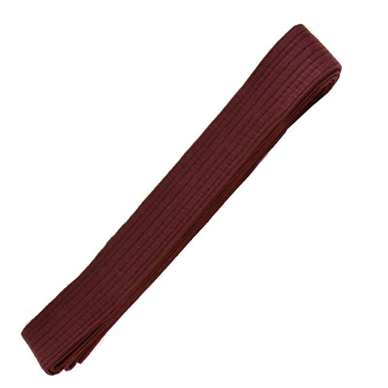 Пояс для кимоно коричневый 270 см