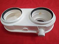 Перехід конденсаційний бінокль 60/100 на роздільний 80/80, фото 1