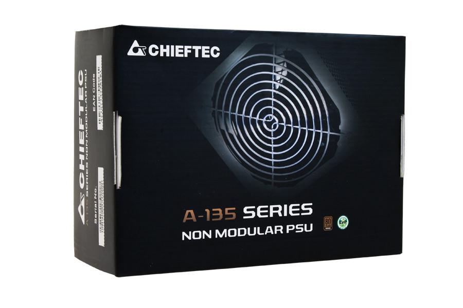 Блок питания CHIEFTEC RETAIL A-135 APS-650SB,14cm fan,a/PFC,24+8+4,3xPeripheral,1xFDD,6xSATA,2xPCIe