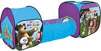 Детская палатка с переходом Маша и Медведь 995-7093С , фото 1