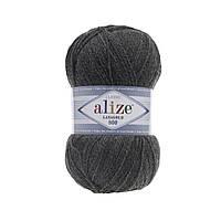 Пряжа Alize Lanagold 800 - 182 темно-серый (Ализе Лана голд 800)