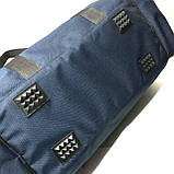 Универсальные дорожные сумки Украина (синий джинс)25*58см, фото 8