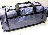 Универсальные дорожные сумки Украина (синий джинс)25*58см, фото 9
