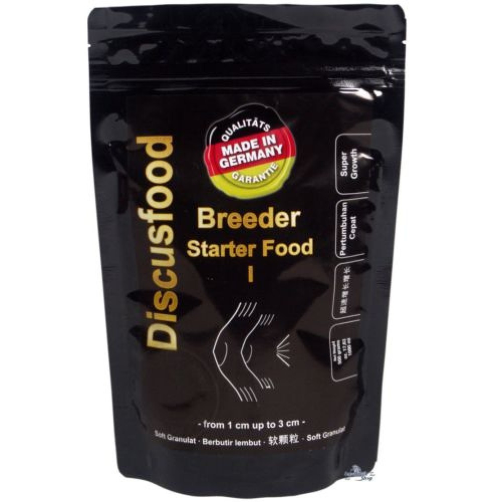 Стартовый корм для малька. Discusfood Breeder Starter Food I Softgranulate 500 гр.