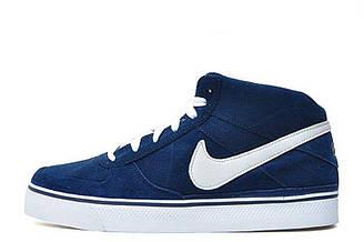 Мужские кроссовки  Nike 6.0 Mavrk Mid 2 M08 | Найк 6.0 мид синие