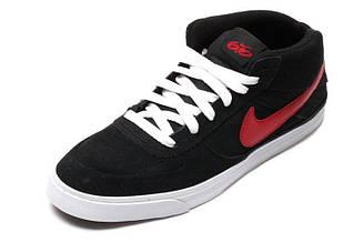 Мужские кроссовки  Nike 6.0 Mavrk Mid 2 M09 | Найк 6.0 мид черные