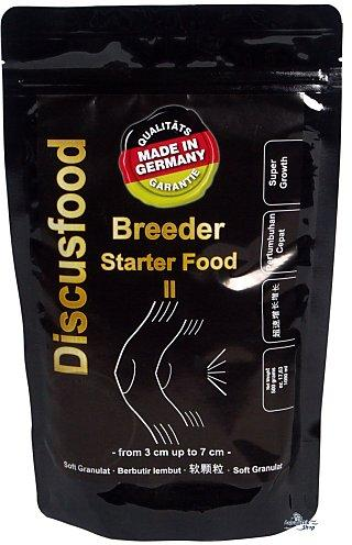 Стартовый корм для малька. Discusfood Breeder Starter Food II Softgranulate 500 гр.
