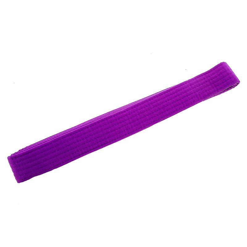 Пояс для кимоно фиолетовый 270 см