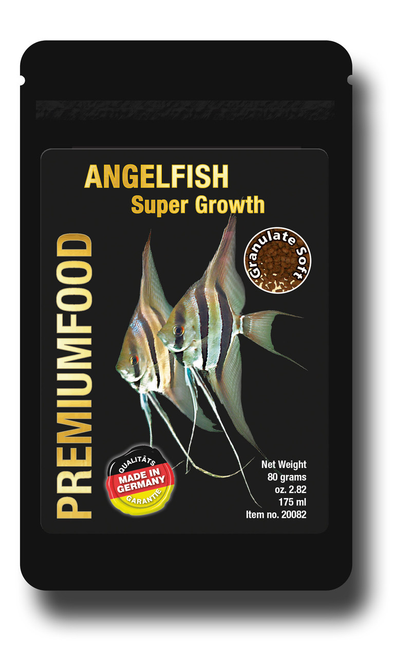 Корм для Скалярий и Альтумов. Discusfood Angelfish Supergrowth Granulate 80 гр. 1 мм.