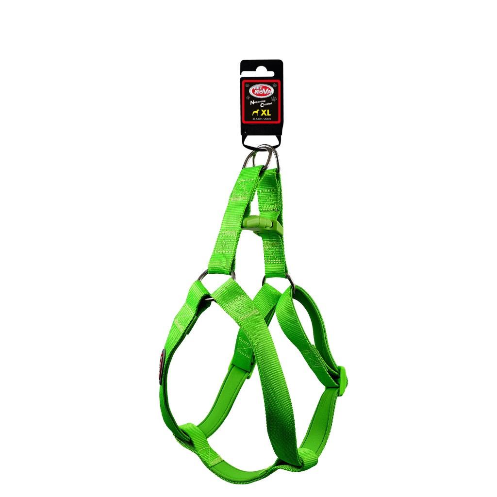 Нейлонова шлея Pet Nova XL 47-68 см Світло-зелена