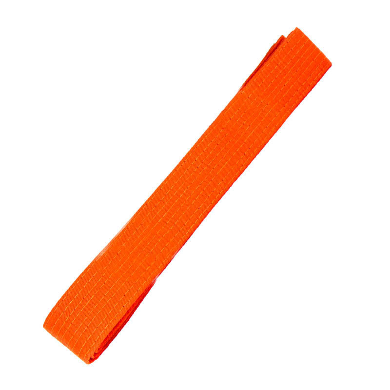 Пояс для кимоно оранжевый 260 см