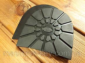 Набойки формованные Vibram/Вибрам Италия 5328 100*100*5,5мм цвет черный