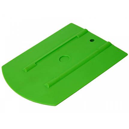 """21910600 Ергономічний ракель,зелений - 30 WRAP - Uzlex Ergonomic Squeegee green, 4""""+ (110x90mm+30*), фото 2"""