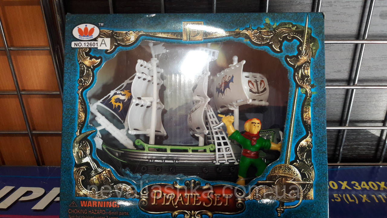 Пираты парусник