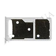 Держатель Sim- карты и карты памяти для Huawei Honor 5C (NEM- L51)/  Honor 7 Lite (NEM- L21) серебро