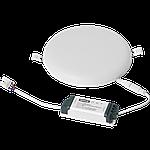 Світлодіодний світильник врізний 1-MSP-2441-C MAXUS SP edge 24W 4100К Коло, фото 3