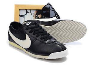 Оригинальные мужские кроссовки Nike Cortez New Style 04M | найк кортез нью стайл 04М черные 44