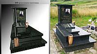 3D проект памятника
