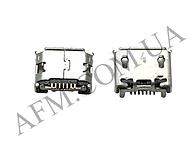 Коннектор Samsung i9100/  B3310/  B7610/  C3300/  C5510 /  I5500/  I9070/  I9100/  I9103/  M3710/  M7500/  M7600/  S3550