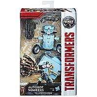Трансформер Transformers 5: Делюкс Autobot Sqweeks Hasbro (C0887/C2403EU4)