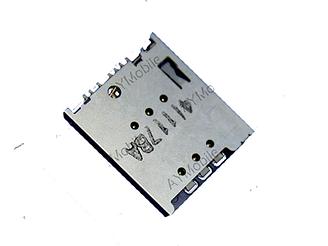 Коннектор Sim Motorola XT1028/  XT1032/  XT1033/  XT1035