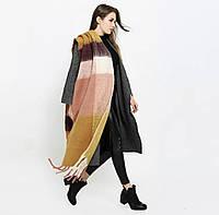 """Зимний шарф """"Одеяло"""""""