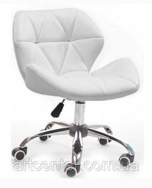Кресло для мастера, кресло белое (СТАР НЬЮ)