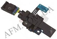 Коннектор наушников Samsung N5100 Galaxy Note 8.0,   с динамиком,   с датчиком света,   со шлейфом