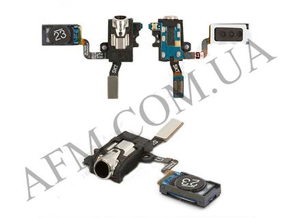 Коннектор наушников Samsung N900 Note 3/  N9000/  N9006,   со шлейфом,   с динамиком,   с вибро