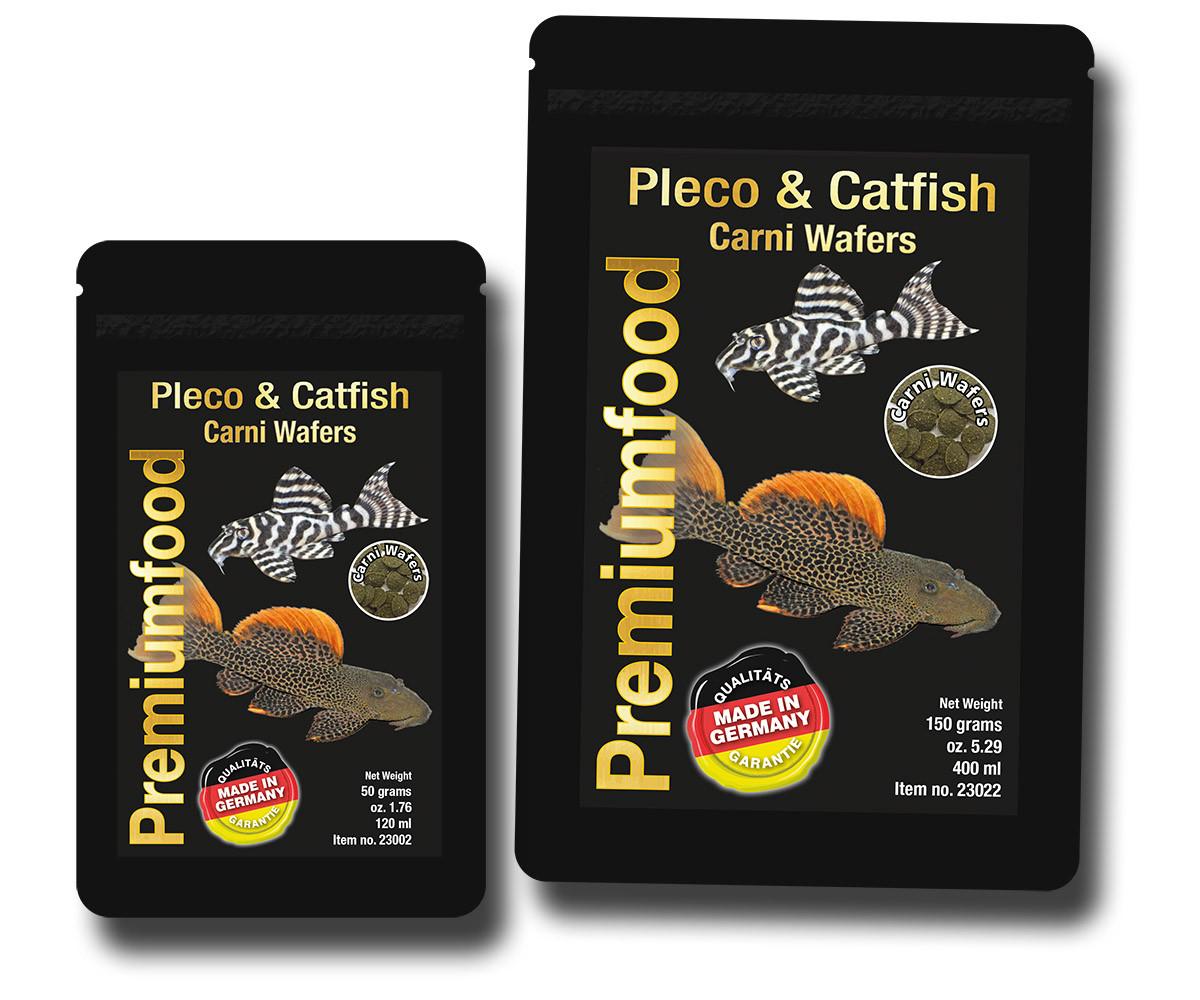 Корм для плотоядных сомов. Сухие корма. Pleco & Catfish Carni Wafers 50 гр.
