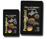 Корм для плотоядных сомов. Сухие корма. Pleco & Catfish Carni Wafers 50 гр., фото 1