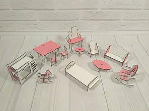 Комплект мебели для маленьких кукол , фото 2