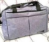 Універсальні спортивні сумки Nike текстиль на плече (червоний)30*48см, фото 2