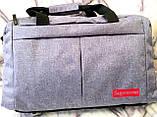 Універсальні спортивні сумки Nike текстиль на плече (червоний)30*48см, фото 4