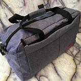 Універсальні спортивні сумки Nike текстиль на плече (червоний)30*48см, фото 5