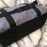 Універсальні спортивні сумки Nike текстиль на плече (червоний)30*48см, фото 7