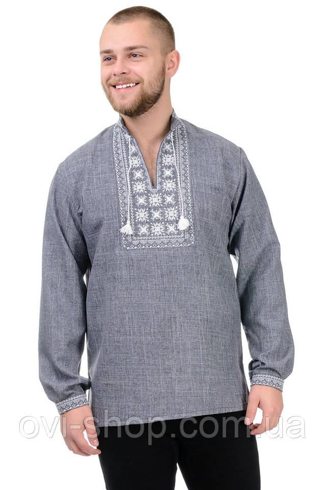 Рубашка с вышивкой мужская