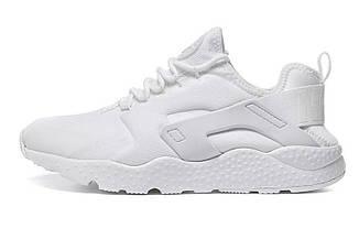 Мужские кроссовки  Nike Huarache Ultra White|Мужские кроссовки найк хуараче белые оригинал
